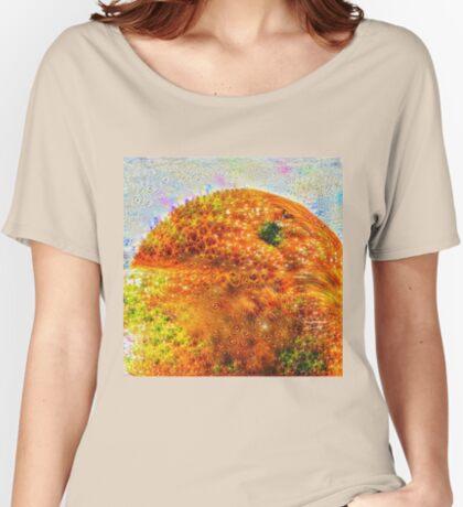 #DeepDreamed Frozen Orange Relaxed Fit T-Shirt