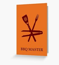 BBQ Master VRS2 Greeting Card