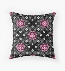Openwork seamless pattern. Throw Pillow