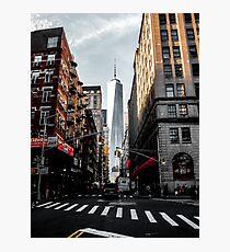 Lower Manhattan One WTC Photographic Print
