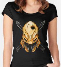 Elite Skull - Halo Legendary Orange Women's Fitted Scoop T-Shirt