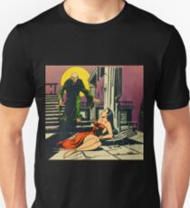 Nosferatu advances upon his captive Unisex T-Shirt