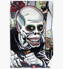 Horrible Evil Undead Ghoul Poster