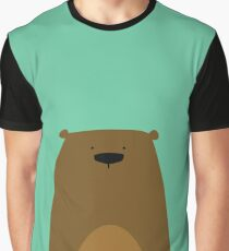 Stumped Bear Graphic T-Shirt