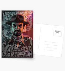 Chief Hopper's Philosophie Postkarten