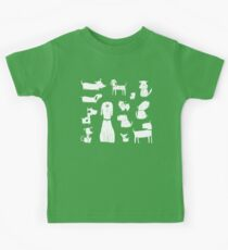 dogs - latte Kids Clothes