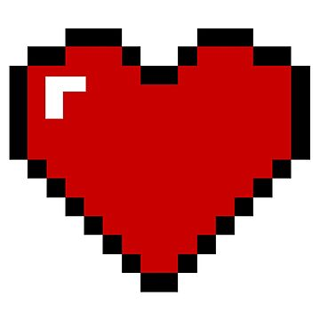8 Bit Heart by reallyreal