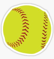 Softball Sticker