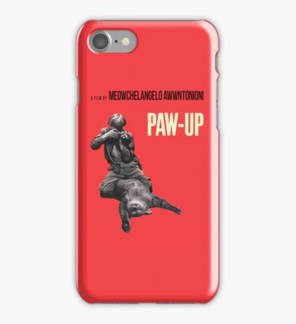 PAW-UP iPhone Case/Skin