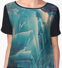 'Jagged' but ready for the challenge Women's Chiffon Top