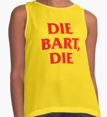 Die Bart, Die – Sideshow Bob Tattoo Contrast Tank