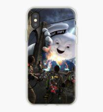 Ghostbusters Brooklyn Bridge Stay Puft iPhone Case