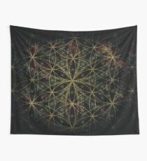 SACRED FLOWER OF LIFE Wall Tapestry
