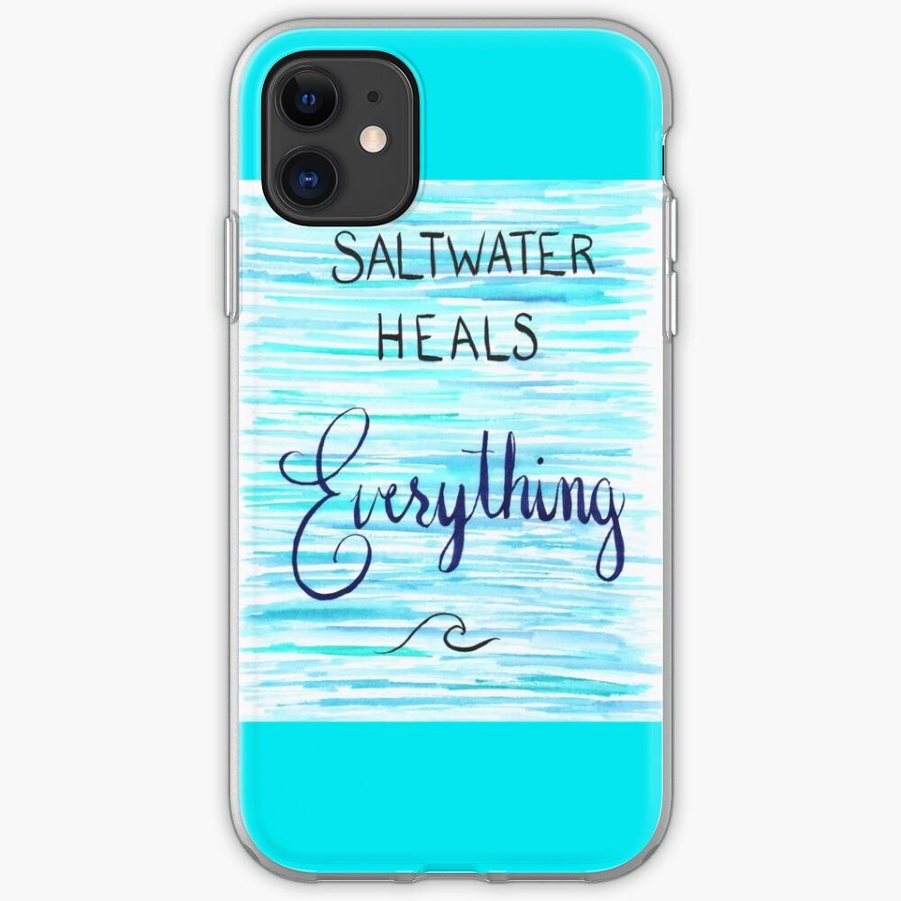 Saltwater Love iPhone 11 case
