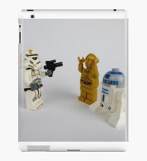 Toy Figure Characters iPad Case/Skin