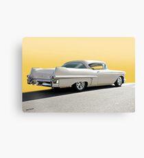 1957 Cadillac Custom Coupe DeVille Canvas Print