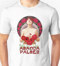 Amanda Palmer - Alphonse Mucha T-Shirt