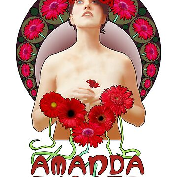 Amanda Palmer - Alphonse Mucha by nickhamilton