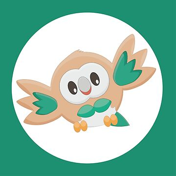 Rowlet Pokemon Design by MikeFromToronto