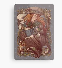 NOUVEAU FOLK WITCH Metal Print
