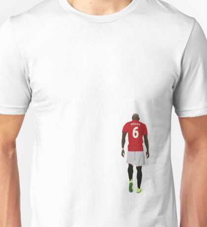 Paul Pogba Manchester United Return Unisex T-Shirt