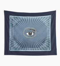 Vintage All Seeing Eye Wall Tapestry