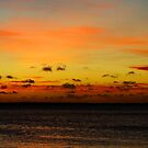 Caribbean sunset by AWLPIX