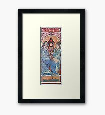 Alphonse Mucha - Benedictine Framed Print
