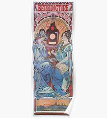 Alphonse Mucha - Benedictine Poster