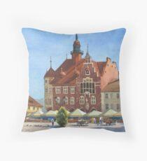 Weekend at Tarnowskie Góry Throw Pillow