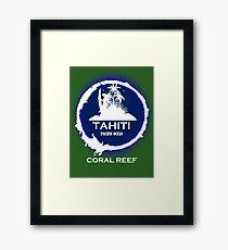 TAHITI Beach Paradise Framed Print