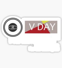 Support V-Day Sticker