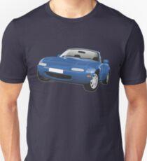 Mazda MX-5 Miata blue T-Shirt