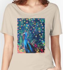 Psychedelic Peacock Women's Relaxed Fit T-Shirt