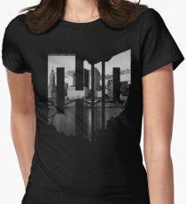 RecklessWear - Capital City Women's Fitted T-Shirt