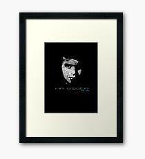 HR GIGER Framed Print