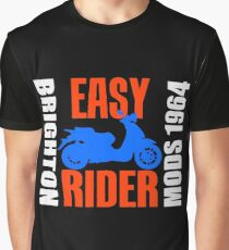 EASY RIDER-BRIGHTON 1964 Graphic T-Shirt