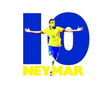 Neymar 10 by dbutler1990