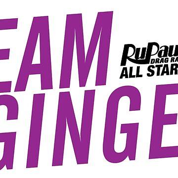 Ginger Minaj - RuPaul's Drag Race All Stars 2 by ieuanothomas22