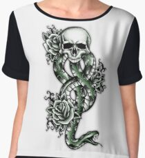 Death ink Women's Chiffon Top