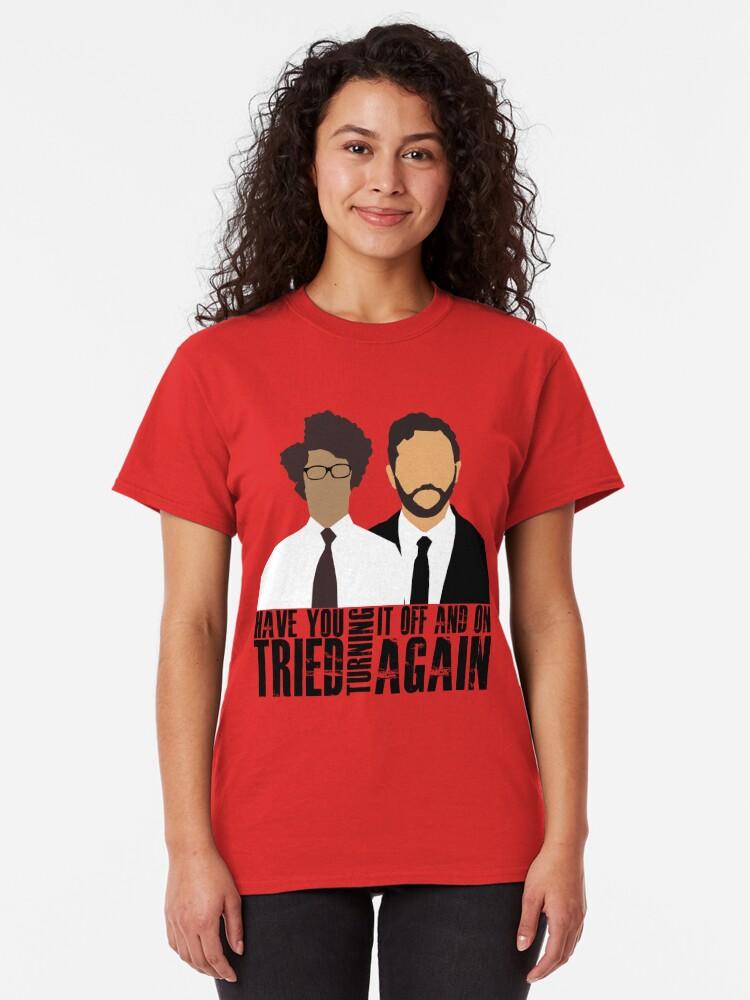 Alternative Ansicht von IT-Menge Classic T-Shirt