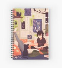 Midnight Theories Spiral Notebook