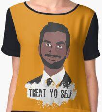 Treat Yo Self Chiffon Top