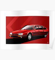 Poster artwork - Citroen CX GTI Turbo 2 Poster
