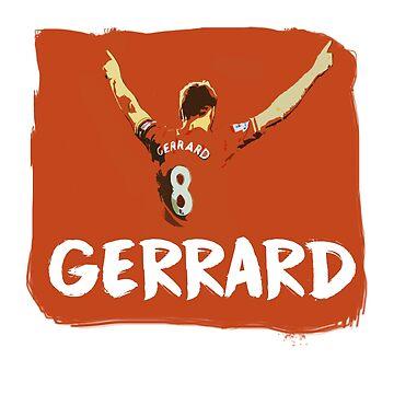 Gerrard! by dbutler1990