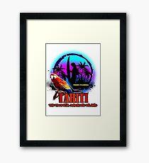 TAHITI Summer Paradise Framed Print