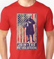 Join The Revolution Washington Unisex T-Shirt