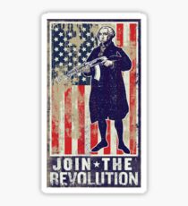 Join The Revolution Washington Sticker