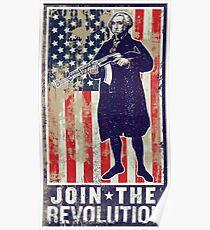Join The Revolution Washington Poster