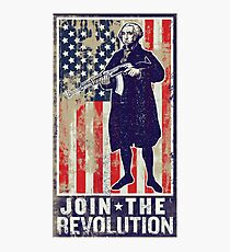 Join The Revolution Washington Photographic Print